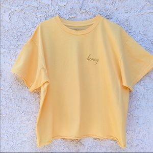 Brandy Melville Honey T-shirt 🐝